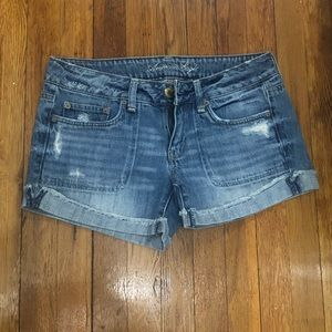 American Eagle Jean Shorts- Size 8